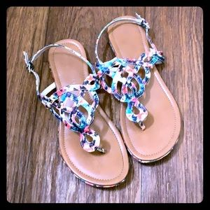 Kelly & Katie Multi Color Sandals